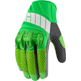GUANTES ICON OVERLORD 2 VERDE