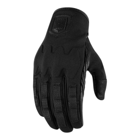 GUANTES ICON FORESTALL NEGRO