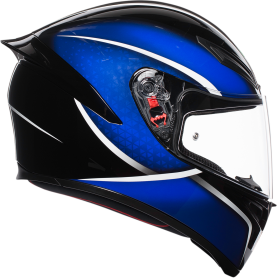 CASCO AGV K1 QUALIFY NEGRO/AZUL
