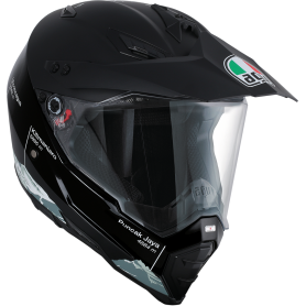 CASCO AGV AX8 DS NEGRO/BLANCO